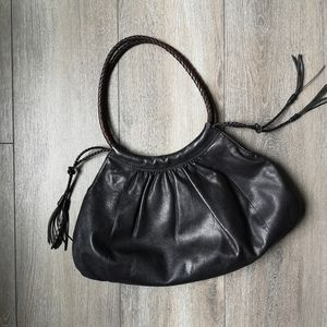 Derek Alexander leather shoulder purse